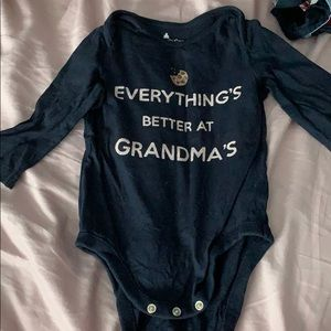 Everything's better at grandmas onesie